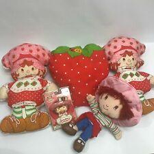 Strawberry Shortcake mixed Lot Stuffed Dolls Nightlight Pillow