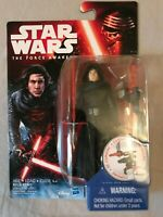 MISP Star Wars The Force Awakens Kylo Ren Wave 3 3.75 inch Sealed 2015