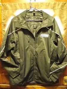 ROUSH FENWAY FORD RACING ~ Men's Medium ~ Hidden Hood EXTREME Jacket