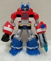TRANSFORMERS RESCUE BOTS OPTIMUS PRIME ELECTRONIC TALKING 2012