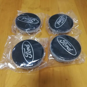 4PCS 54mm Wheel Center Caps Cover Logo Badge Emblem For Ford Focus Fiesta Edge