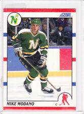 1990-91 Score #120 Mike Modano Minnesota North Stars Rookie Hockey Card
