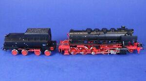 Marklin 3-Rail HO Scale Non-Running Steam Engine & Tender for Parts /Restoration