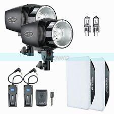 Godox 300W Mini Master 2X K-150A Studio Strobe Flash Light +Trigger Softbox Kit