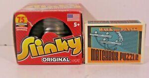 The Original Slinky Brand 75th Anniversary & Walk the Plank Matchbox puzzle