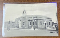 CRISFIELD MD || United States Post Office || Vintage B&W Postcard || Maryland