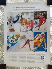 Official Winter Olympic Games 1994 Lillehammer Poster