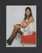 ANNA IVANOVIC PANTYHOSE STOCKINGS ORIGINAL HAND SIGNED MOUNTED AUTOGRAPH PHOTO