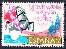 España 2208, con sello/o/hl. Georg de calificarse