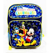 "NWT Mickey Mouse Clubhouse 14"" Medium Backpack School Bag for Toddlers by Disney"