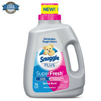 Super Fresh Liquid Fabric Softener Spring Burst Snuggle Plus 78.3 oz - 74 Loads