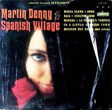MARTIN DENNY - SPANISH VILLAGE - LIBERTY LBL - STEREO LP