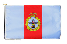 More details for canadian military police branch flag with rope and toggle - various sizes