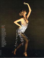 PUBLICITE ADVERTISING 094  1998  CHANEL haute couture modèle REVUE MUSIC HALL