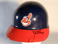 JIM THOME CLEVELAND INDIANS AUTOGRAPHED SIGNED BATTING HELMET CHIEF WAHOO