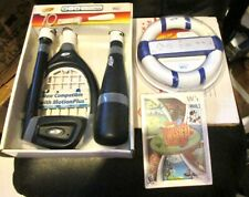 WII NERF SPORTS PACK TENNIS, GOLF, BASEBALL,TWISTER TOWER GAME +