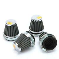 4x Universal 48mm Motorcycle Cleaner Pod Cleaner Inlet Intake Air Filter Washabl