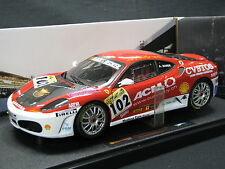 Hot Wheels Elite Ferrari F430 Challenge 2006 1:18 #102 Ange Barde (SUI)