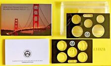 2018 San Francisco Mint Silver Reverse Proof Set OGP and COA with No Coins