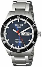 Tissot Automatic Men's T0444302104100 PRS 516 Blue Dial Stainless Steel Watch