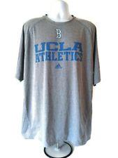 UCLA Bruins Athletics  Men's Graphic T-Shirt  Adidas ClimaLite  Gray  Size 2XL.