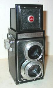 KODAK REFLEX II 6X6 TLR KAMERA MIT ANASTAR 3,5/80MM OBJEKTIV 1948-54