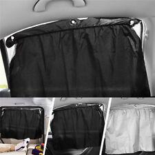 2*Car Sunshade Curtain Sucker Universal Car Sunscreen Silvering Blackout Curtain