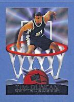 1998 Net Burners TIM DUNCAN Rookie Card San Antonio Spurs #30 GEM MINT CONDITION