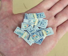 1/6 Scale Miniature Play Money US $100 Banknotes Model Dollhouse Diorama
