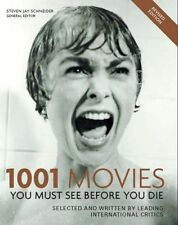 1001 Movies You Must See Before You Die,Steven Jay Schneider- 9781844032679