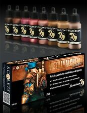Scale 75 Metal N' Alchemy Copper series Colours Acrylic Paint Set 8 Bottles