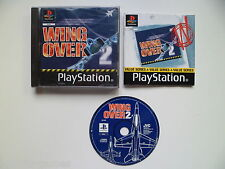 SONY PS1 PLAYSTATION 1 PAL GAME WING OVER 2 TESTED IN CONSOLE