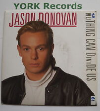 """JASON DONOVAN - Nothing Can Divide Us - Excellent Condition 7"""" Single PWL 17"""