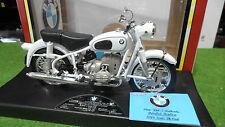 Moto BMW R60-2 Blanc de 1960 au 1/10 TOOTSIETOY 3303 miniature