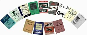 Ford N Series Tractor Manual Set CD - Models 9N 2N 8N