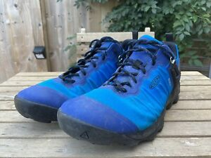 Keen Venture Hiking Shoes Blue Mens UK 10.5, EU45 USED