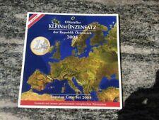 SERIE DIVISIONALE EURO 2008 AUSTRIA OESTERREICH OOSTENRIJK AUTRICHE BU UNC KMS