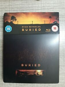 Blu ray Buried EDITION STEELBOOK COLLECTOR français inclus
