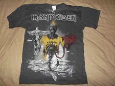 IRON MAIDEN-SHIRT ALLOVER BRAZIL CULT HEAVY METAL LTD RARE!!!