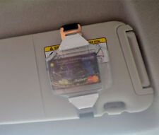 Visor Fuel Card Holder w Black Elastic Strap - Great for Fleets by Specialist ID