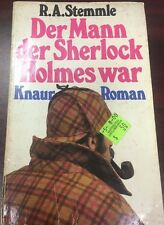 THE MAN OF SHERLOCK HOLMES by R.A. Stemmle (1981) German paperback