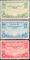 United States #C20-C22 Mint CV$21.40 China Clipper over Pacific [STOCK IMAGE]