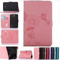 """Folio Leather Case Cover Stand For Samsung Galaxy Tab 4 7.0"""" 7-inch Tablet T230"""