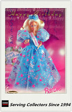 1996 Australia Tempo 36 Years Of Barbie Trading Cards Happy Birthday Card HB1