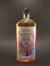 Bath & Body Works Aromatherapy Stress Relief VANILLA VERBENA Body Wash & Foam Ba