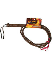 Indiana Jones Toy Costume Accessory Brown Leather Whip