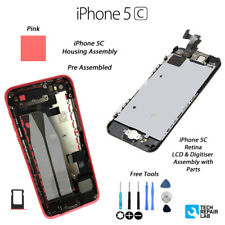 Nouveau Complet LCD Assembly + Back Cover Housing Replacement for iPhone 5 C-Rose