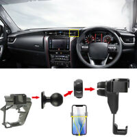 for Toyota Fortuner AN160 2015-2019 Gravity Air Vent Outlet Mount Phone Holder