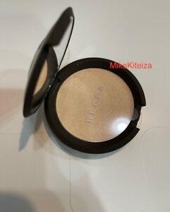 BECCA Shimmering Skin Perfector Pressed Moonstone 0.28oz New Fresh box damaged