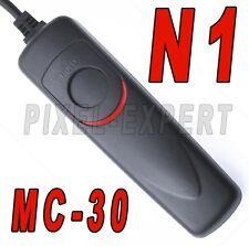 SCATTO REMOTO PER NIKON MC-30 TELECOMANDO XD200 D300 D300s D700 D800 D4 D3 D3S
